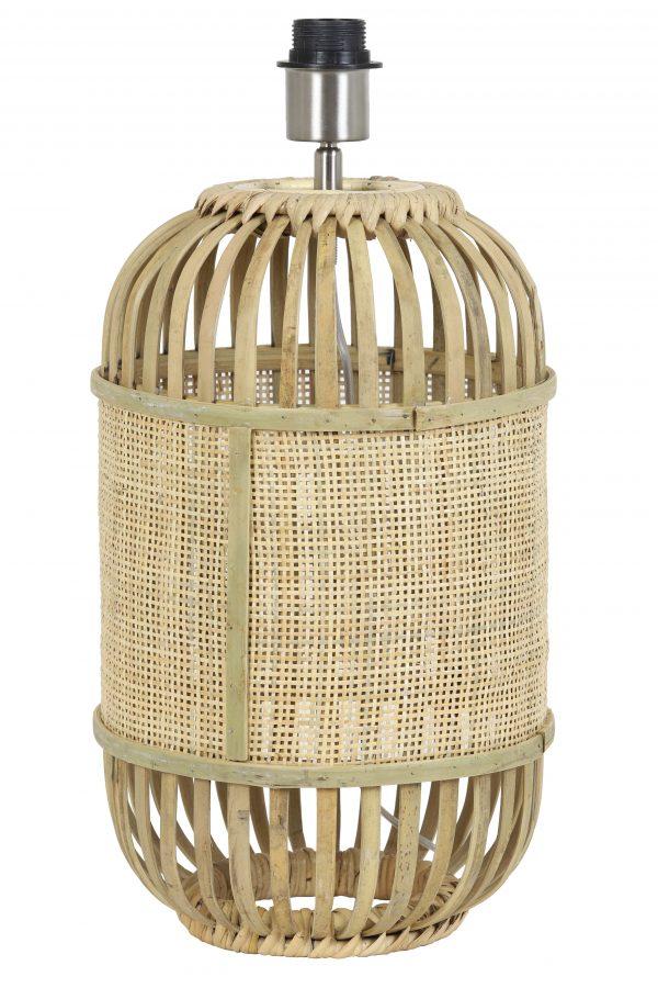 Lampvoet Ø25x40 cm ALIFIA bamboe+webbing naturel 8199730 Quality2life.nl