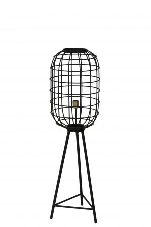 Vloerlamp Ø35,5x125 cm TOAH mat zwart-antiek brons 8207812 Quality2life.nl