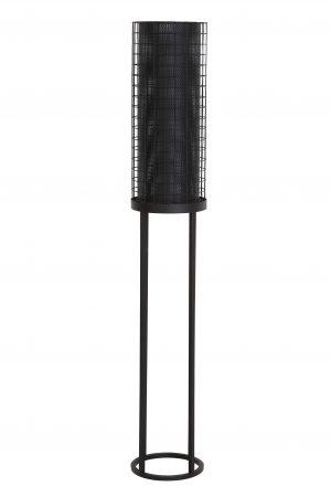 Vloerlamp Ø25x150 cm AREDE mat zwart 8208912 Quality2life.nl