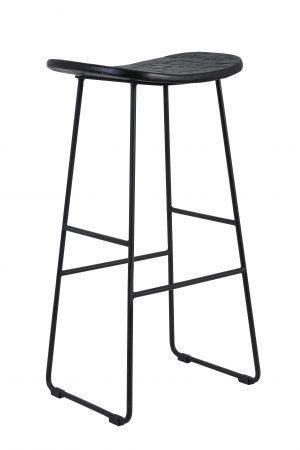 Kruk 40x30x69 cm TRIPAS mat zwart 6736112 Quality2life.nl