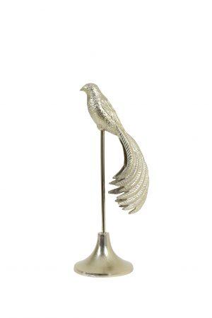 Ornament op voet 21x15x54,5 cm JADY glanzend goud 6981198 Quality2life.nl