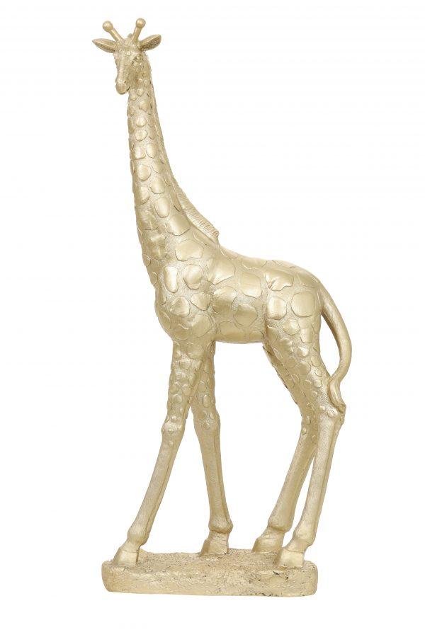 Ornament 67 cm GIRAFFE licht goud 7425084 Quality2life.nl