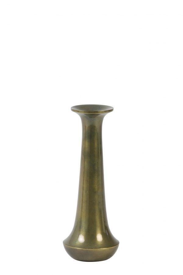 Kandelaar 8x20cm MOURA antiek brons 5979618 Quality2life.nl