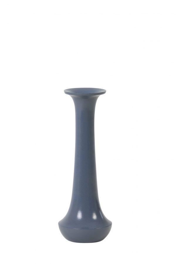 Kandelaar 8x20cm MOURA blauw 5979680 Quality2life.nl