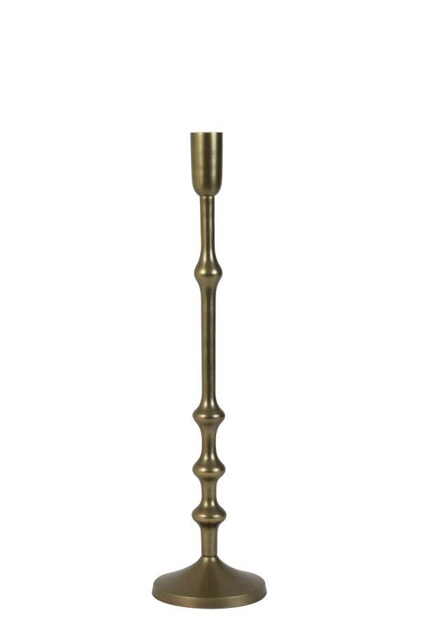 Kandelaar 12x50cm SEMUT antiek brons 6038018 Quality2life.nl