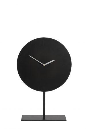 klok-op-voet Waiwo 7105258 zwart-zilver Quality2life.nl