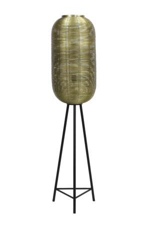 8213518 - Vloerlamp Ø36x152 cm TOMEK antiek brons Quality2life.nl